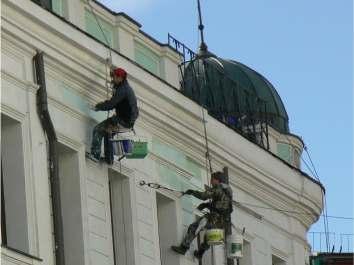 Ремонт и реставрация фасадов зданий Хмельницкий