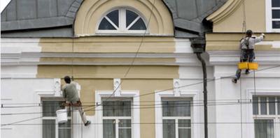 Ремонт и реставрация фасадов зданий в Хмельницком