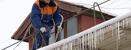 Очистка крыш от снега Хмельницкий