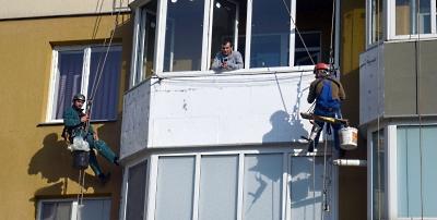 Утепление балкона в Хмельницком